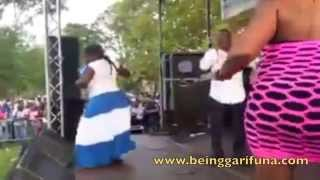 NINO ARZU @ 2014 Central American Independence Festival in Bronx