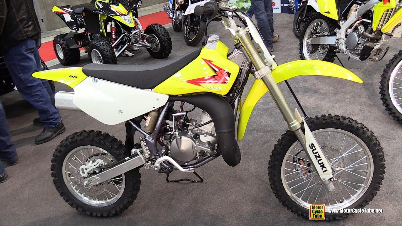 2015 suzuki rm 85 cross bike walkaround 2015 salon moto de quebec youtube. Black Bedroom Furniture Sets. Home Design Ideas