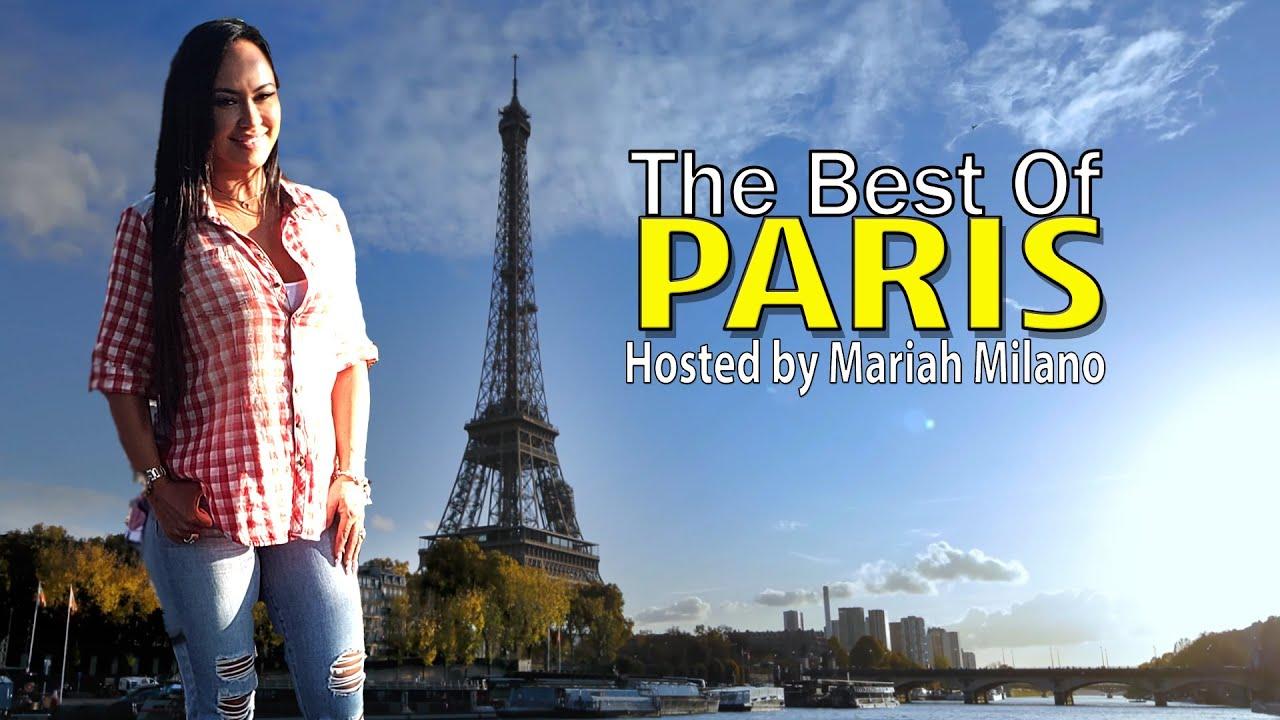 "Travel with Mariah - Episode 1 ""The Best Of Paris"" The Best Restaurants in Paris!"