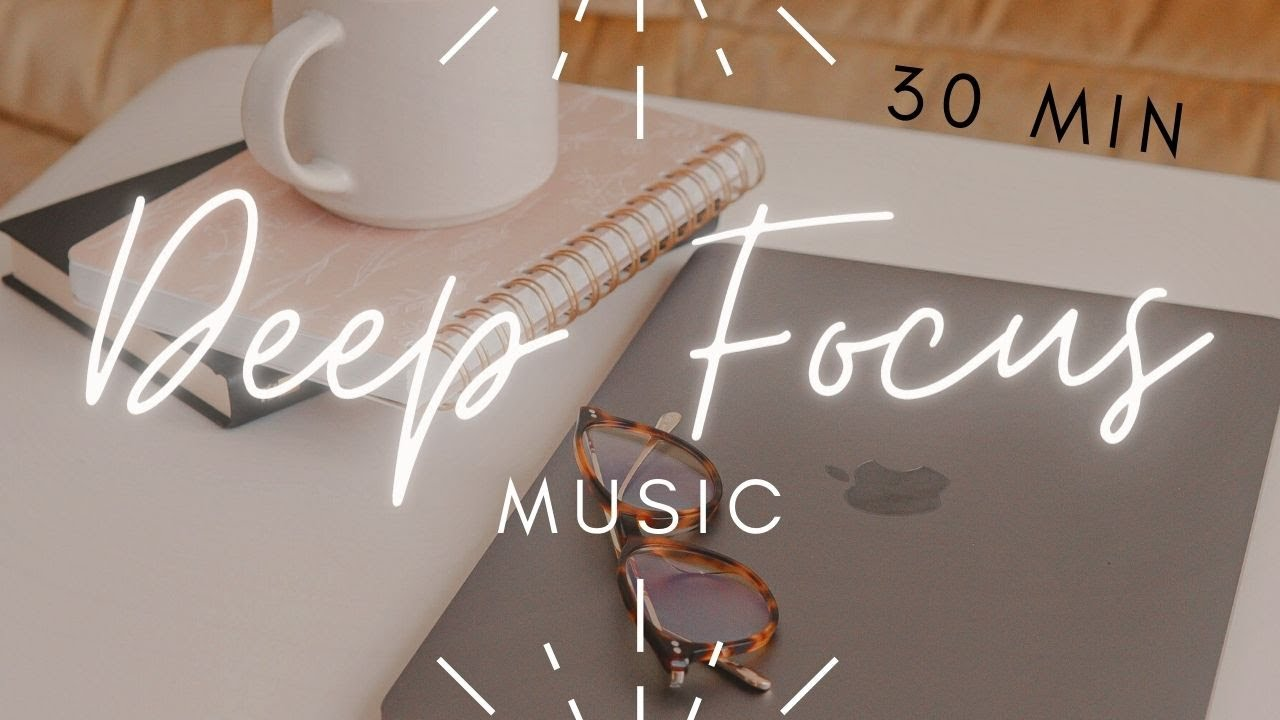 Deep Focus chill Study Music, relaxing, journaling, being creative, ambient & aesthetic sound