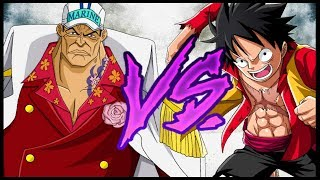 The Straw Hats Vs. The Admirals - One Piece Discussion | Tekking101