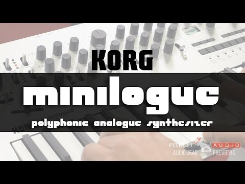 Korg Minilogue featured Pitbull Audio Gear Preview powered by EnterTalk Radio