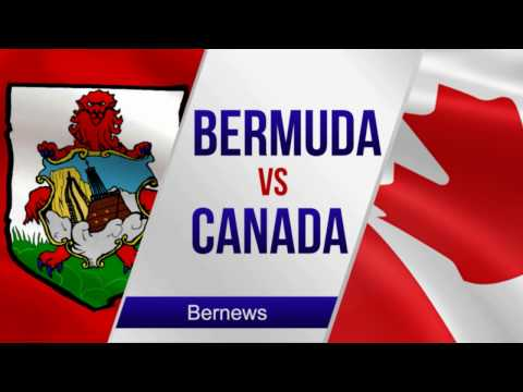 Bermuda's Football Team vs Canada, January 2017