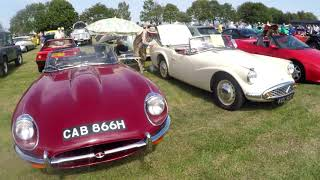 Brill Festival and Classic Car show - White Horse Classic Vehicle Enthusiasts
