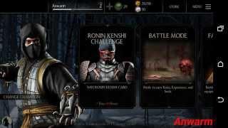 Mortal Kombat X Gameplay Tutorial (Android)