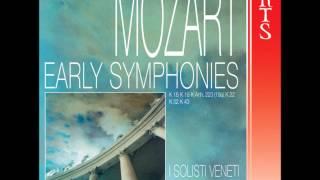 Wolfgang Amadeus Mozart, Symphony No1 In E Flat major K 16 - Presto