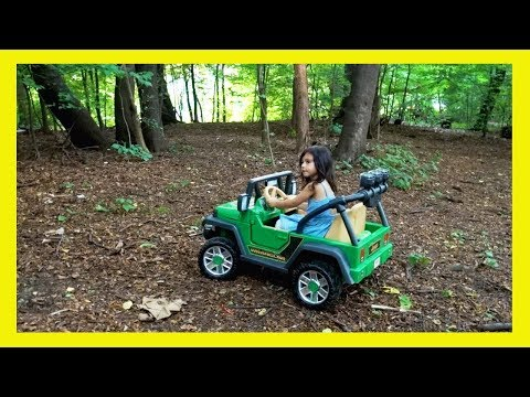 Ride On Jeep Off Road Adventure - Power Wheels By Fisher Price