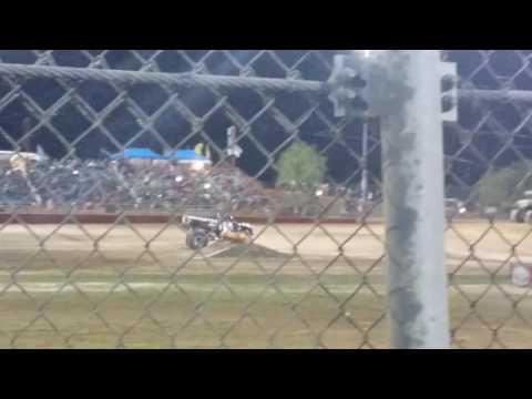 Raminator! Worlds fastest monster truck at Lucas Oil Speedway