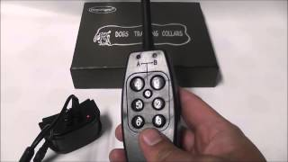 Dogwidgets Dw-3 Remote 1 Dog Training Shock Collar With Vibration
