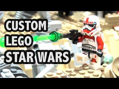 Star Wars: Battlefront Map In LEGO | Jawa Refuge