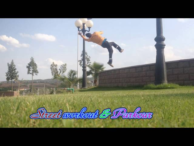 parkour and free runner
