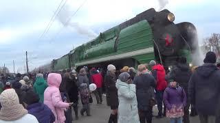 Ретро поезд 150 лет жд в Жуковке