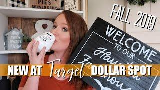 NEW! TARGET DOLLAR SPOT FALL HAUL 2019 🎃 | HALLOWEEN DECOR | FARMHOUSE STYLE
