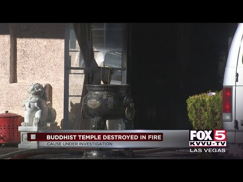 Las Vegas Buddhist Temple Destroyed After Fire