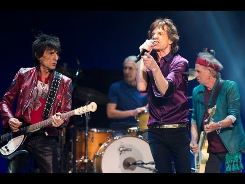 The Rolling Stones - Sway with Mick Taylor at Boston 12/06/2013