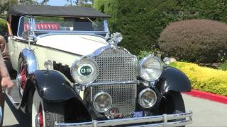 Margaret Dunning At The Pebble Beach Concours D'Elegance