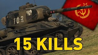 World of Tanks || 15 KILLS - Rudy