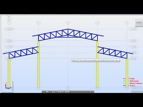 Autodesk Robot Structural Analysis Design Of Steel Truss