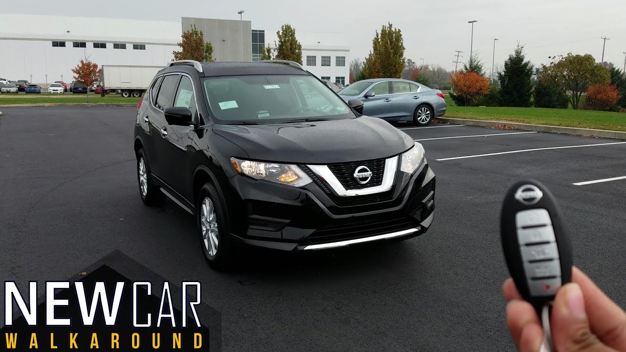 2017 Nissan Rogue Sv In Depth Walkaround Exterior Interior Tech