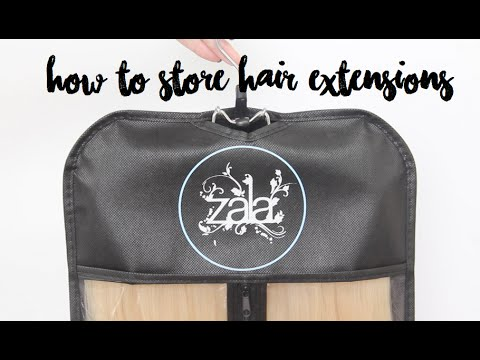 How to store hair extensions ft zala protect me bag youtube how to store hair extensions ft zala protect me bag pmusecretfo Choice Image
