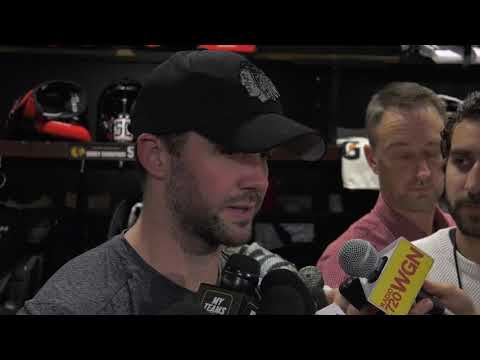 Ward on an incredibly busy 2nd period - 10/21/18