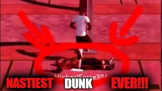 NASTIEST DUNK EVER I STEPPED OVER HIM!!!! EAT EM UP!!!!-NBA2K16