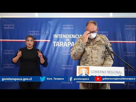 Punto de prensa 06 de julio de 2020 - Gobierno Regional de Tarapacá