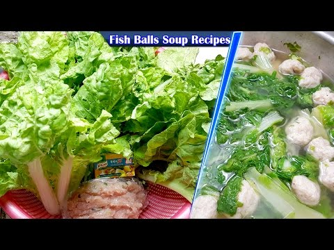 Fish Balls Soup Recipes, Culinary Cooking, Homemade food
