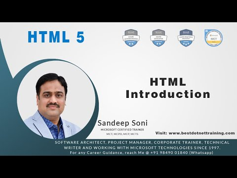 HTML 5 - Introduction