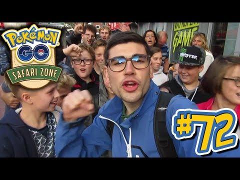 Pokémon GO Nederland: vlog #72 - Safari Zone Meet & Greet! - m/ Soeren!