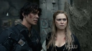 """Bellarke: """"I could use a break from keeping you alive"""" + """"Thank you"""" (The 100: 04x01)"""
