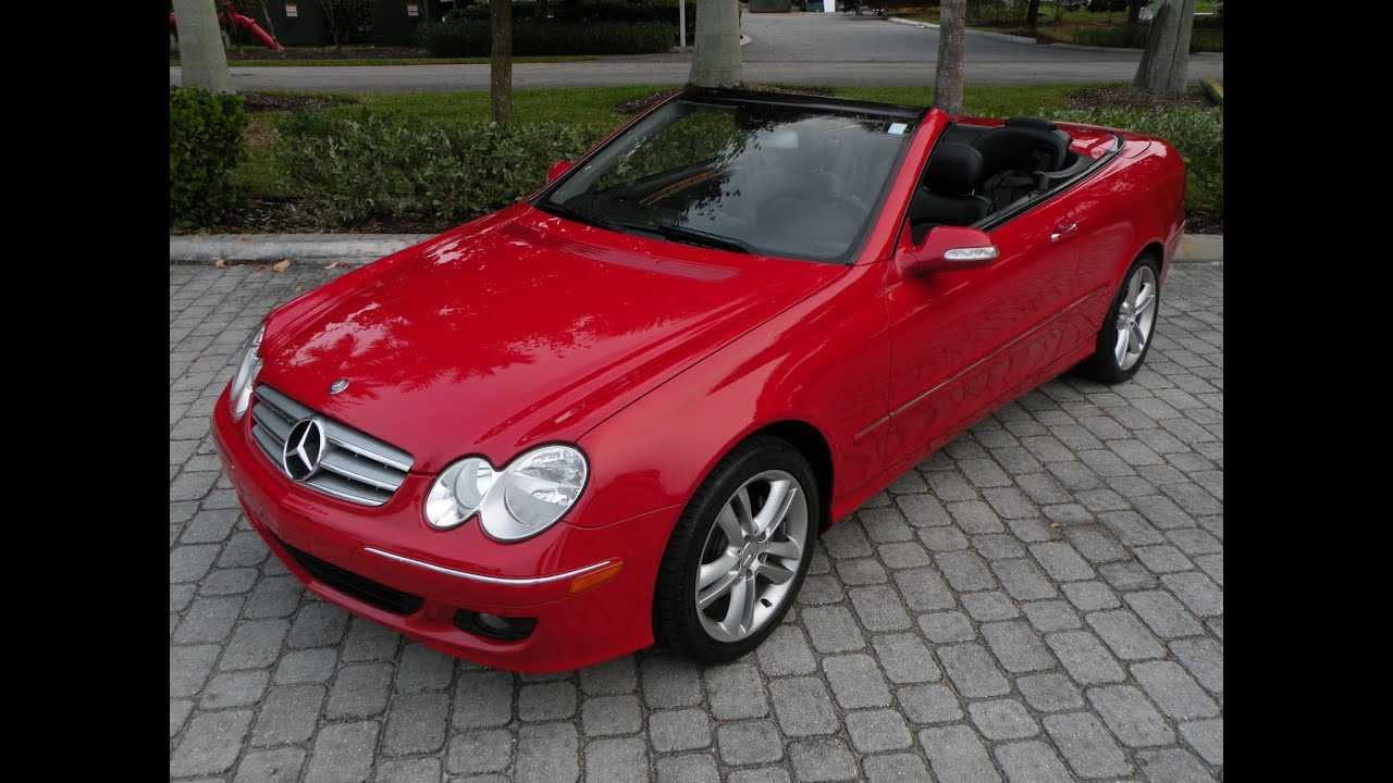 2006 mercedes-benz clk-class clk350 convertible fort myers - youtube
