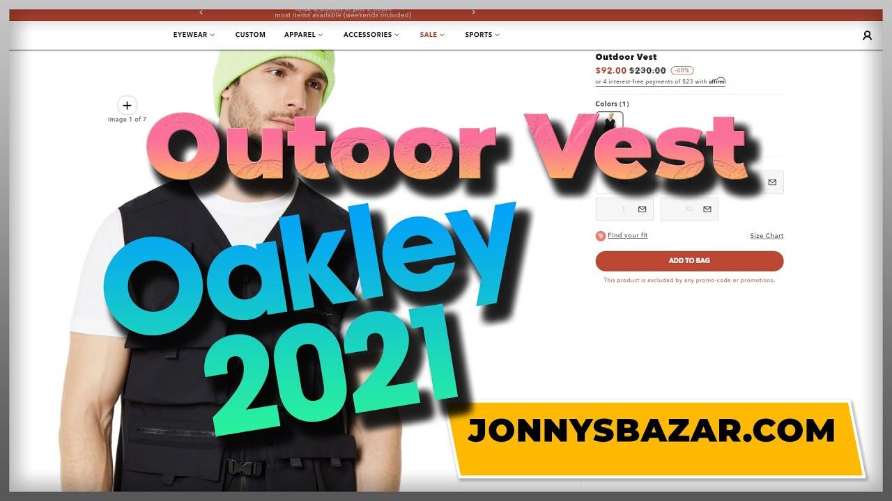 Ap Vest Oakley Comprar  bd8d33ab8b7b3