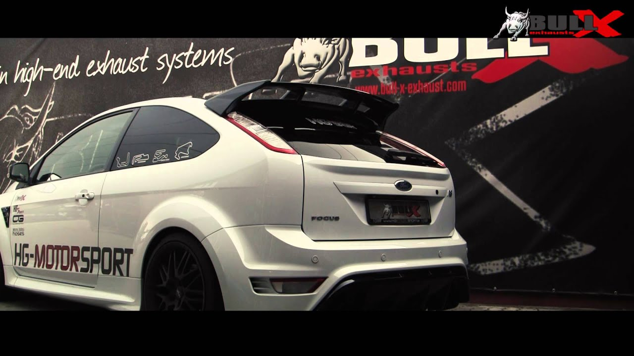ford focus mk2 rs st exhaust sound incl non resonated. Black Bedroom Furniture Sets. Home Design Ideas