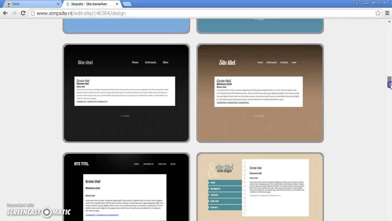 hoe maak ik een site