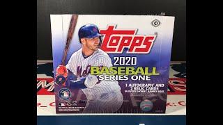 Gambar cover 2020 Topps Baseball Jumbo Hobby Box Break