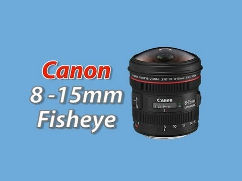 Canon 8 - 15mm Zoom Fisheye Lens