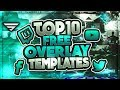 Top 10 Stream Overlay templates | Free download GFX | Seangraphicx