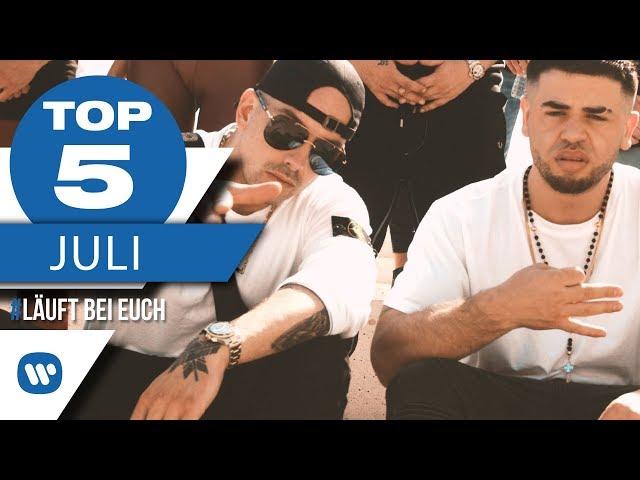 Top 5 Charts Juli 2018 – Die besten Musikvideos I #LäuftBeiEuch