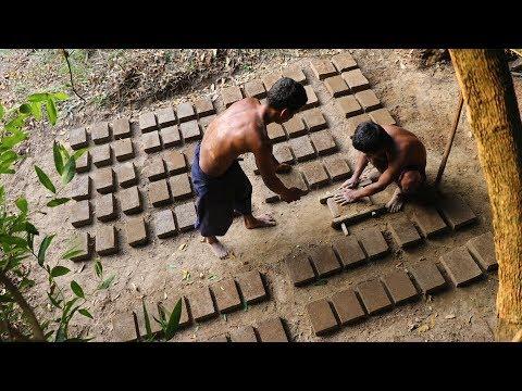Primitive Tool : Make 100 mud brick