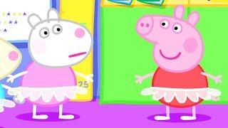Peppa Pig Nederlands Compilatie Nieuwe Afleveringen   Dansen   Tekenfilm   Peppa de Big