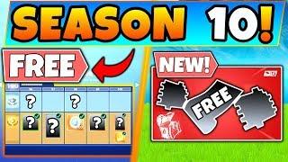 *NEW* FREE SEASON 10 BATTLE PASS + DROPS!? + (Fortnite Season 9 Update)