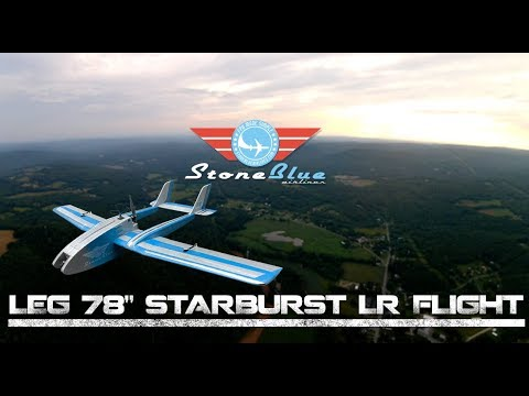 "LEG 78"" Starburst Long Range / Narrated Flight"
