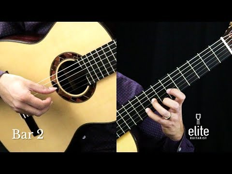 GRANADA - Tutorial Part 1/5 -  EliteGuitarist.com Online Classical Guitar Lessons