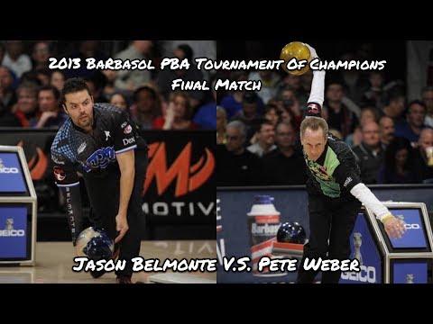 2013 Barbasol PBA Tournament Of Champions Final Match - Jason Belmonte V.S. Pete Weber