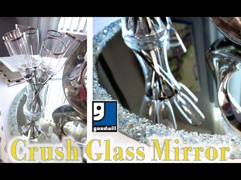 NEW! DEMO - CRUSHED GLASS GOODWILL MIRROR | MOOREGIRL