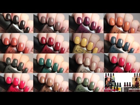 OPI Washington DC Collection | Live Application Review