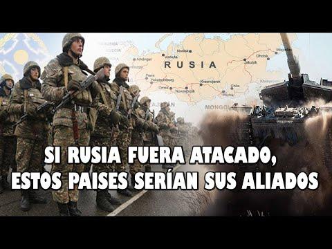 ESTOS SON LOS ALIADOS DE RUSIA, QUE IRÍAN A LA GUERRA SI MOSCÚ ES INVADIDO POR LA OTAN O EEUU