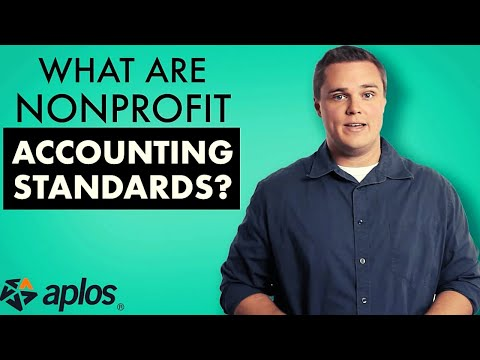 What are Nonprofit Accounting Standards