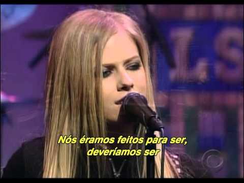 Avril Lavigne - My Happy Ending (Live Late Show Letterman 2004) (Legendado)
